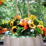 Shannon's Custom Florals Church Wedding Decorations (17)