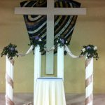 Shannon's Custom Florals Church Wedding Decorations (49)
