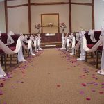 Shannon's Custom Florals Church Wedding Decorations (33)