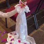 Shannon's Custom Florals Church Wedding Decorations (10)