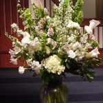 Shannon's Custom Florals Church Wedding Decorations (13)
