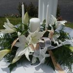 Shannon's Custom Florals Church Wedding Decorations (38)