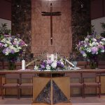 Shannon's Custom Florals Church Wedding Decorations (29)