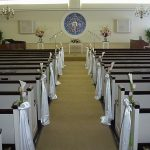 Shannon's Custom Florals Church Wedding Decorations (23)