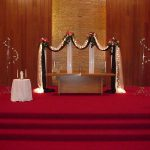 Shannon's Custom Florals Church Wedding Decorations (20)