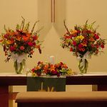 Shannon's Custom Florals Church Wedding Decorations (18)