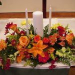 Shannon's Custom Florals Church Wedding Decorations (34)