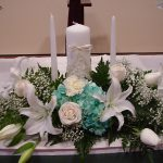 Shannon's Custom Florals Church Wedding Decorations (26)