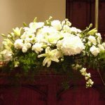Shannon's Custom Florals Church Wedding Decorations (46)