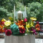 Shannon's Custom Florals Church Wedding Decorations (52)