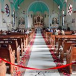 Shannon's Custom Florals Church Wedding Decorations (51)