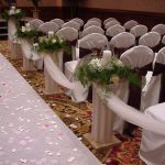 Shannon's Custom Florals Church Wedding Decorations (11)