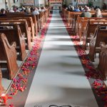 Shannon's Custom Florals Church Wedding Decorations (48)