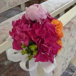 Shannon's Custom Florals Church Wedding Decorations (8)