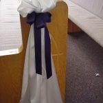 Shannon's Custom Florals Church Wedding Decorations (7)