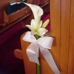 Shannon's Custom Florals Church Wedding Decorations (5)