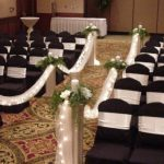 Shannon's Custom Florals Church Wedding Decorations (37)