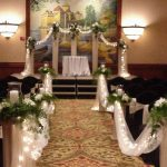 Shannon's Custom Florals Church Wedding Decorations (31)