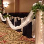 Shannon's Custom Florals Church Wedding Decorations (44)