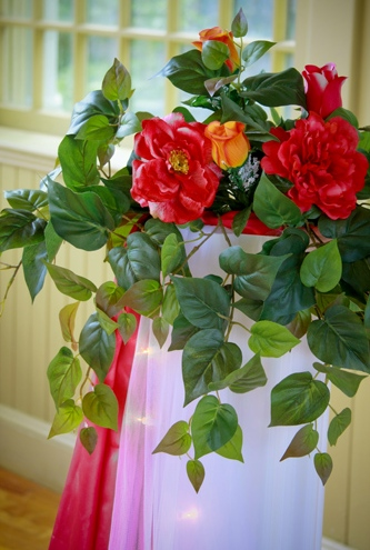 Shannons Custom Florals columns Wedding Rentals Springfield MO Eureka Springs (5)