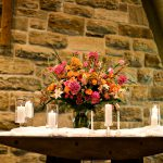 Shannon's Custom Florals Church Wedding Decorations (57)