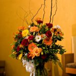 Shannon's Custom Florals Church Wedding Decorations (3)