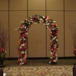 Shannon's Custom Florals Church Wedding Decorations (43)