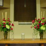 Shannon's Custom Florals Church Wedding Decorations (25)