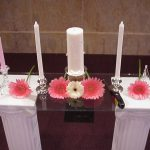 Shannon's Custom Florals Church Wedding Decorations (16)