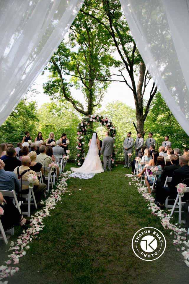 Oak arbor church wedding